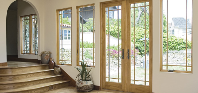 Hinged french patio doors renewal by andersen for Andersen exterior french doors