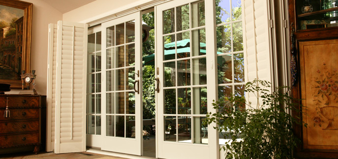 Sliding french patio doors renewal by andersen for Sliding glass door to french door