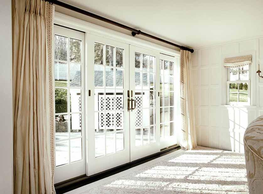 White Patio Doors Renewal By Andersen