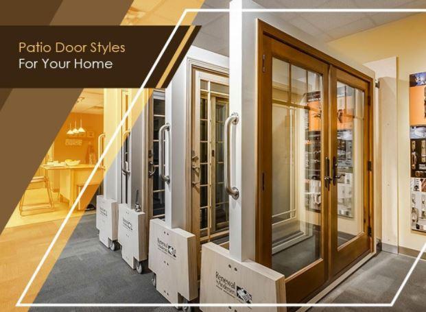 Patio Door Styles For Your Home