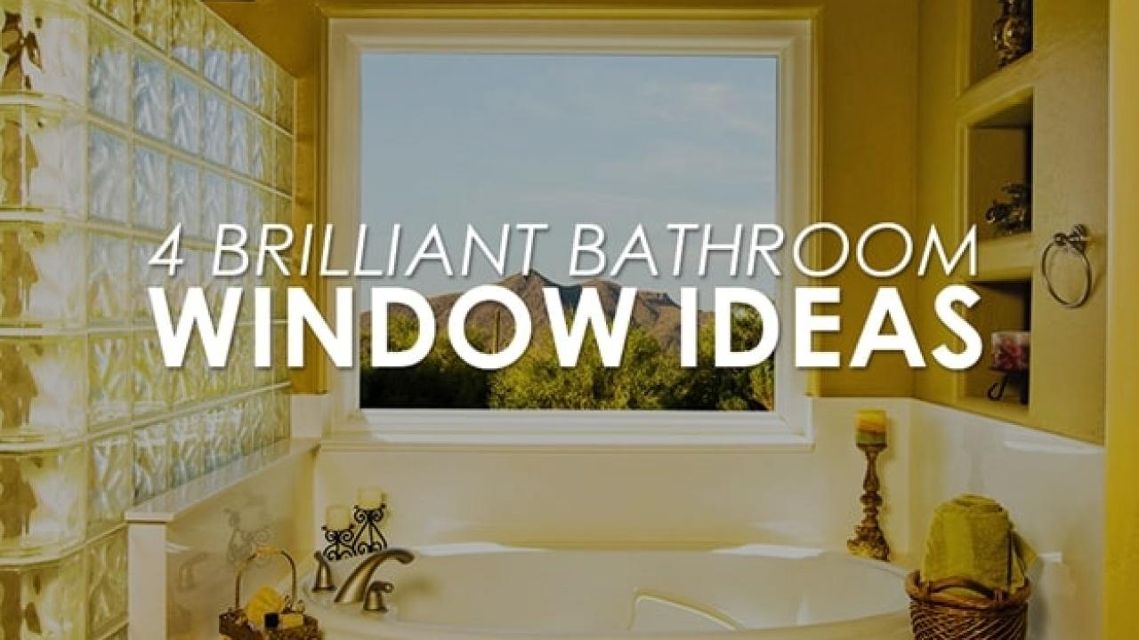 12 Brilliant Bathroom Window Ideas